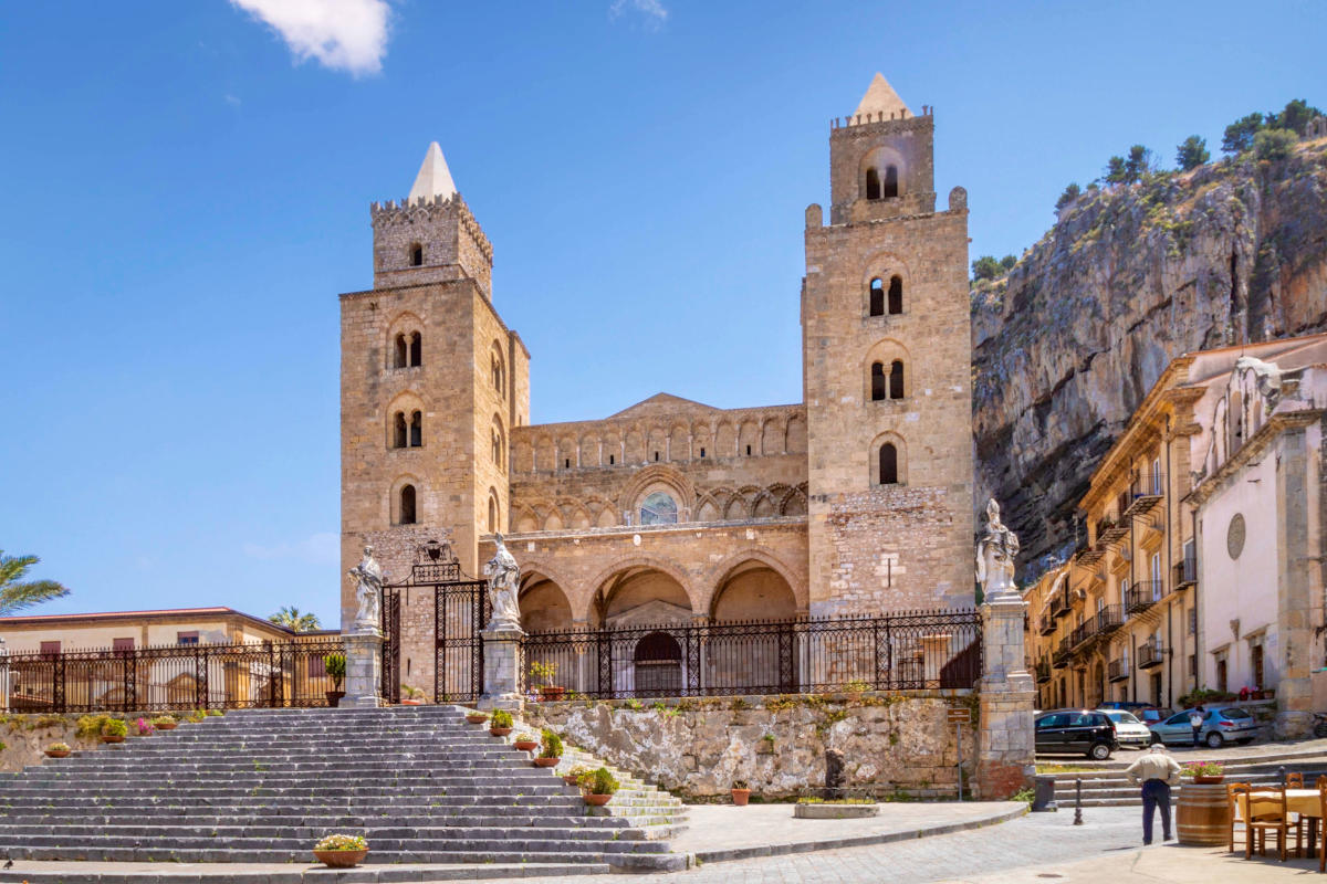 Cathedral of Cefalu, Sicily, Italy